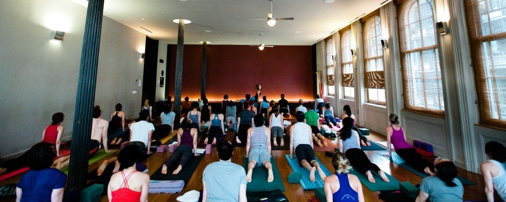 E Yoga group classes